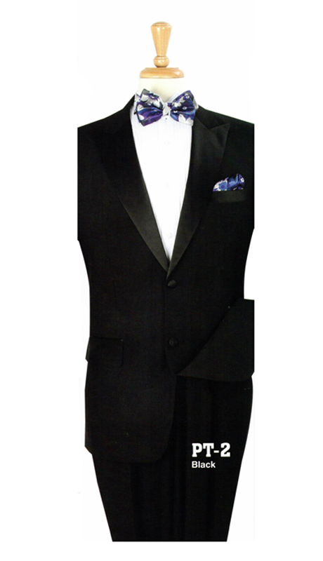 Iconic PT-2 ( 2pc Tuxedo With 2 Buttons And Single Pleated Pants )
