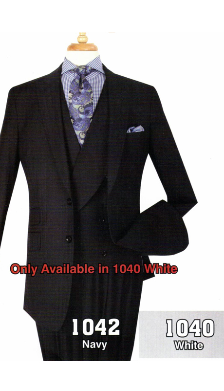 Iconic 1042 ( 3pc High Fashion Suit With Vest )