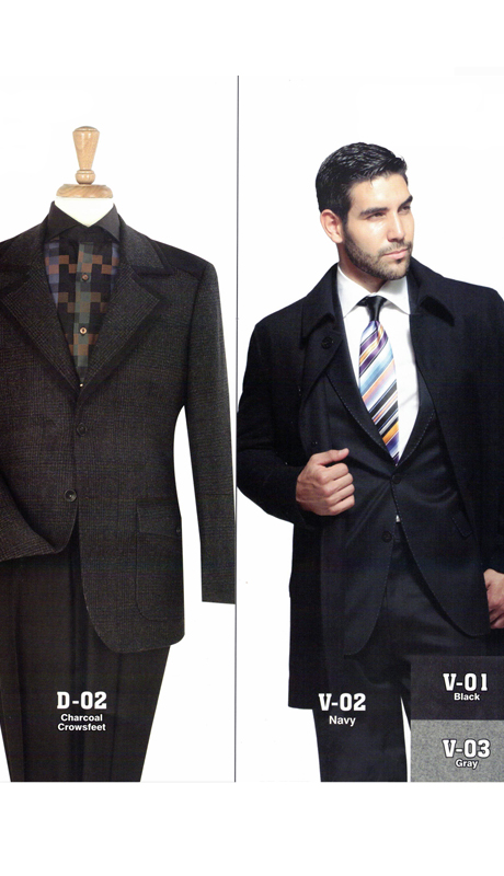 Iconic D-02 ( 1pc High Fashion Wool Sport Coats )
