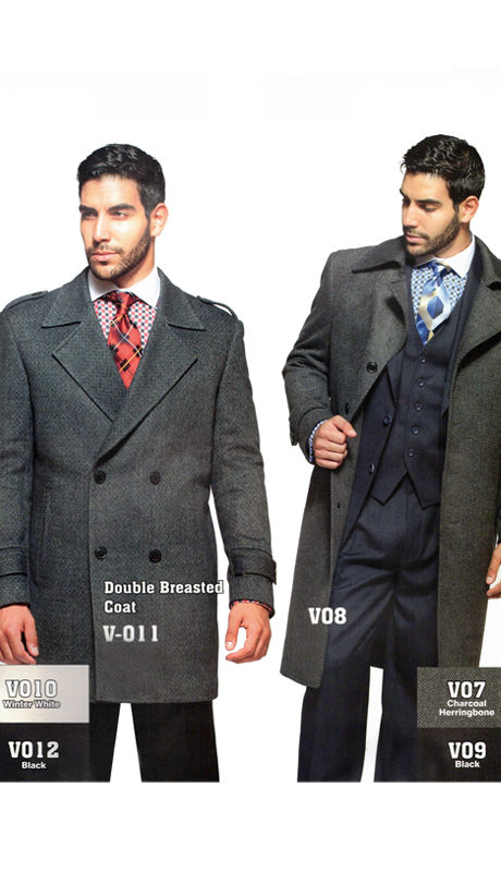 Iconic V-011 ( 1pc Wool Fashion Coats )