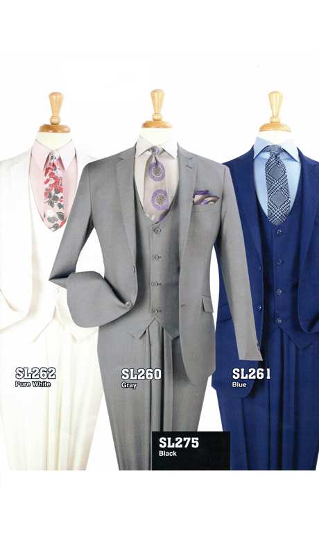 Iconic SL262 ( 3pc Mens Suit )