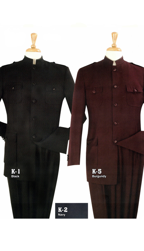 Iconic K1 ( 2pc Nehru Style With Semi Wide Leg Pants )