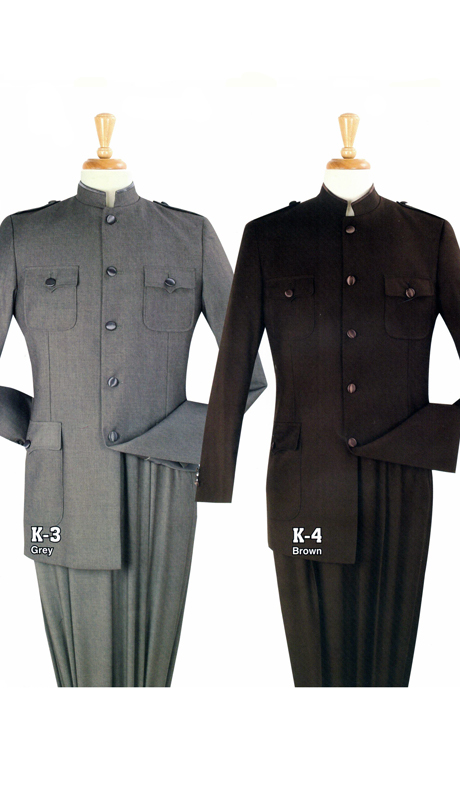 Iconic K3 ( 2pc Nine Buttons Nehru Style With Semi Wide Leg Pants )