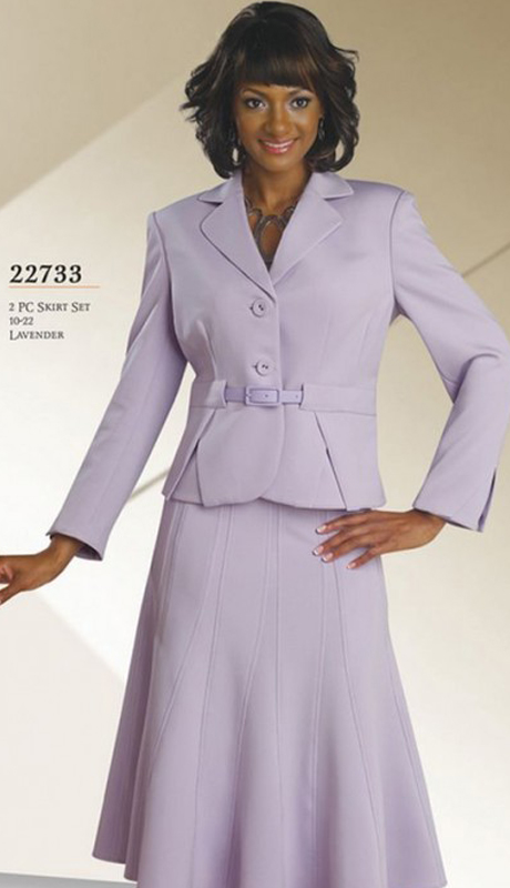 Chancelle 22733-CO ( 3 Pc Peach Skin Suit Church Attire )