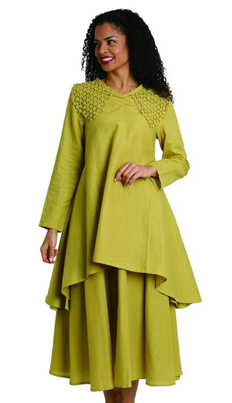 Ella Belle 8218 ( 2pc Womens Linen Suit With Stitched Shoulder Design )