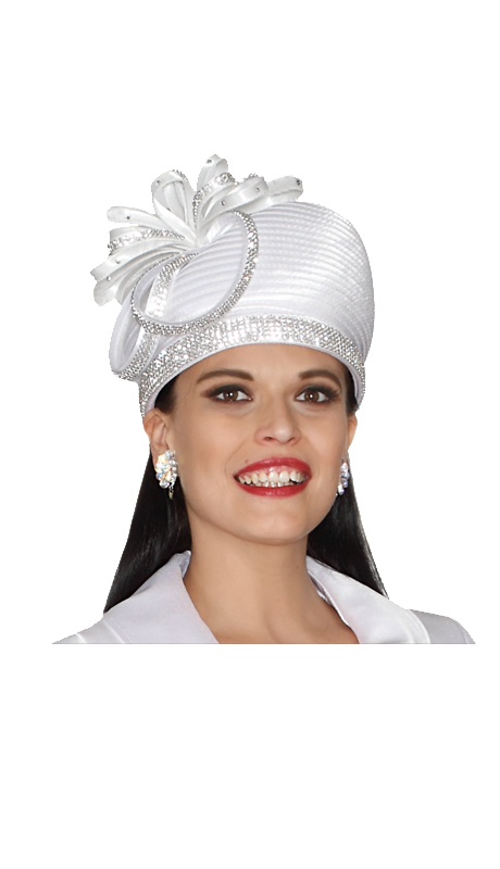 Lily And Taylor Hat 351-WHT
