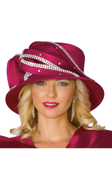 Lily And Taylor Hat 359-WINE