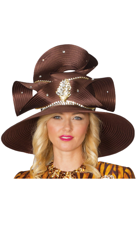 Lily And Taylor Hat 533-BR