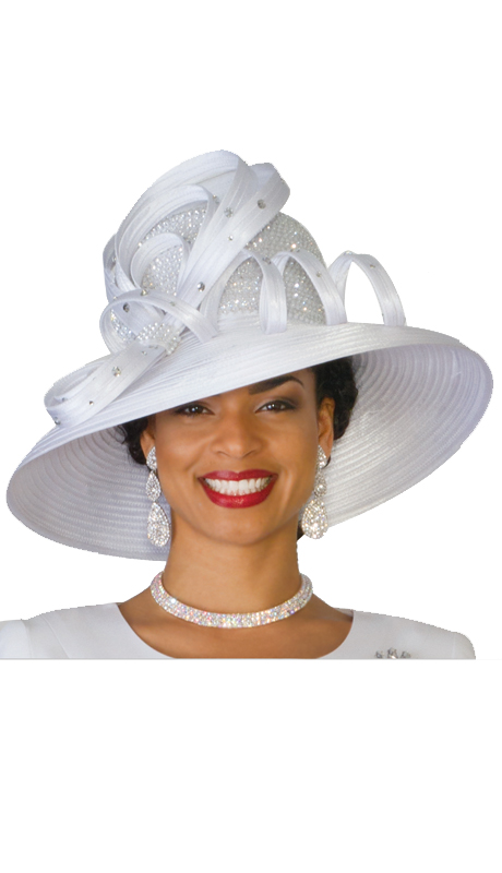 Lily And Taylor Hat 551-WHT