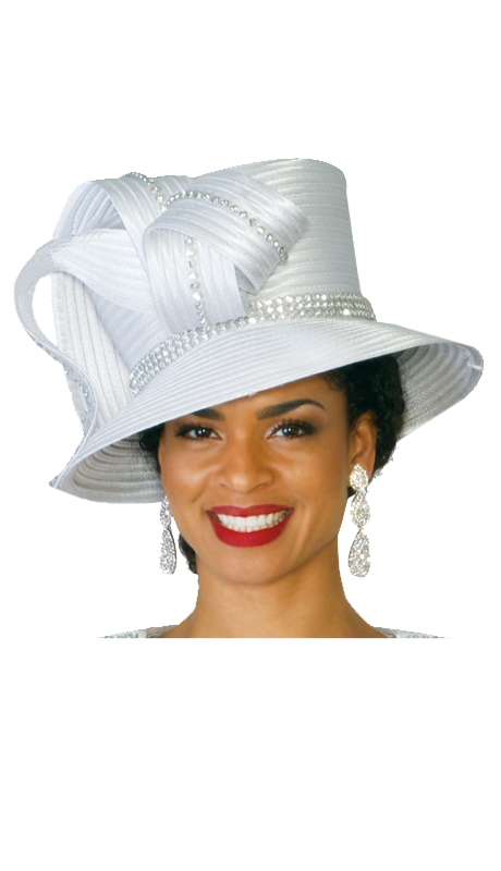 Lily And Taylor Hat 247-WHT