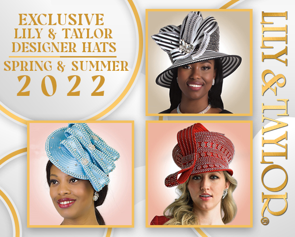 Exclusive Lily And Taylor Designer Hats Spring And Summer 2021