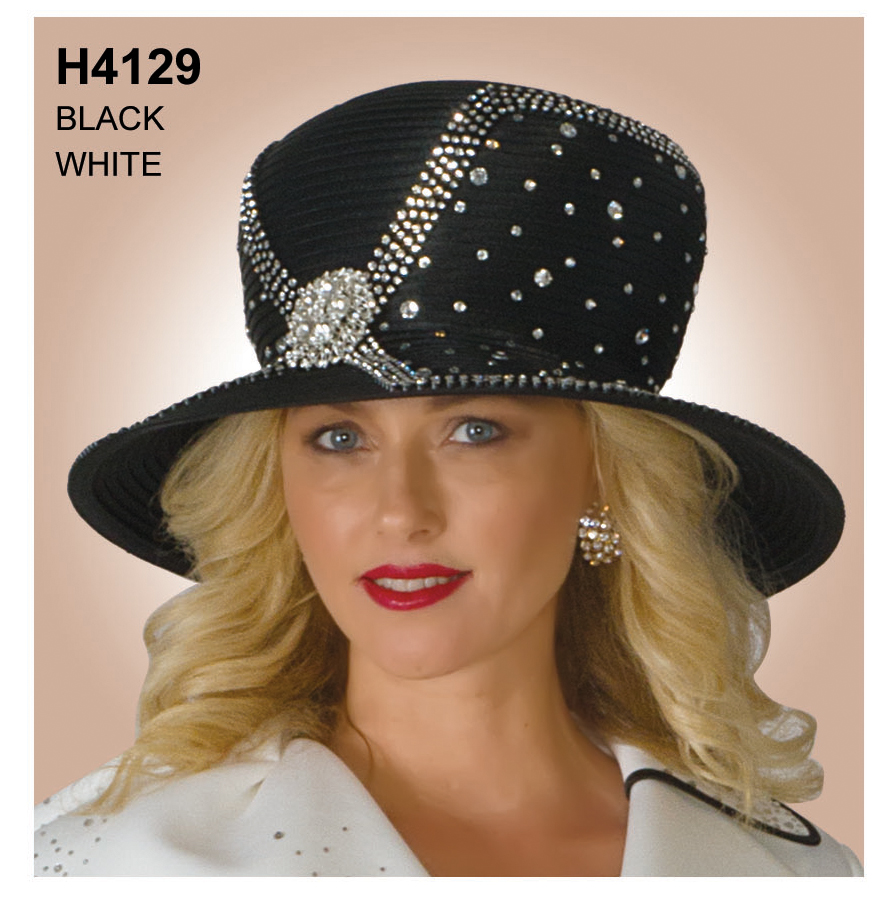 Lily And Taylor Hat H4129-BK