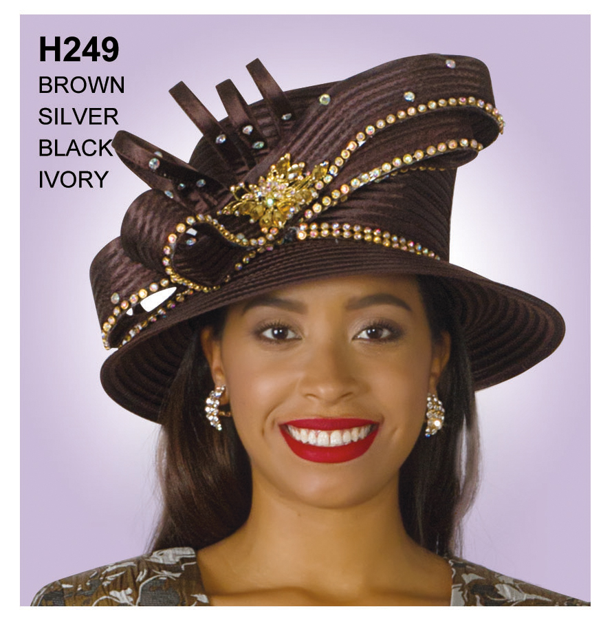 Lily And Taylor Hat H249-BR