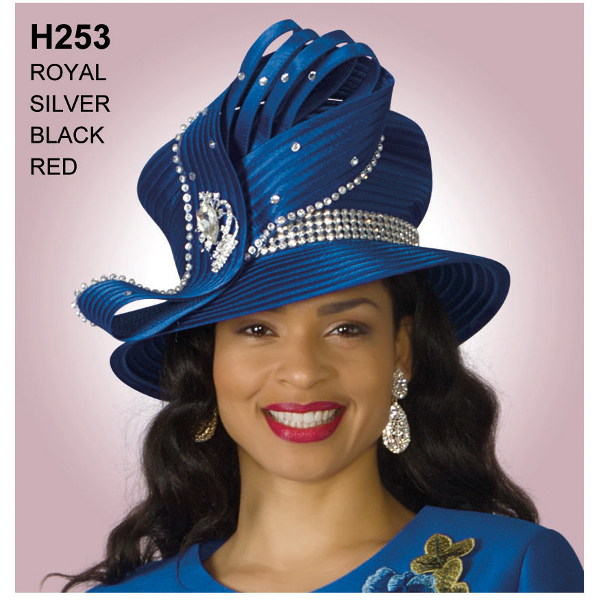 Lily And Taylor Hat H253-RO