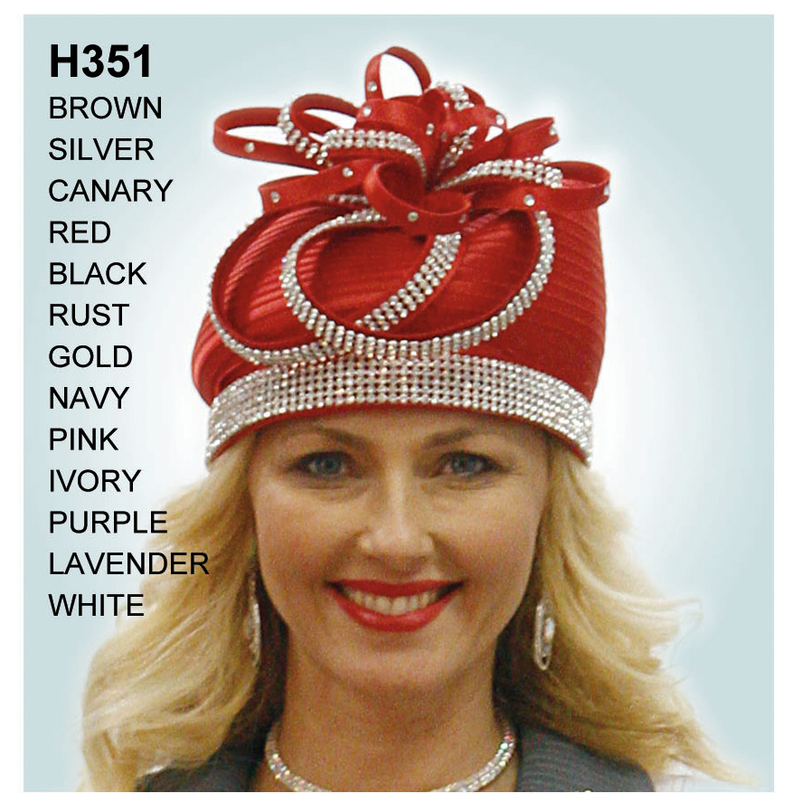 Lily And Taylor Hat H351-RE