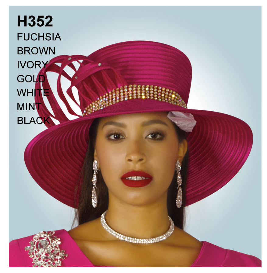 Lily And Taylor Hat H352-FU