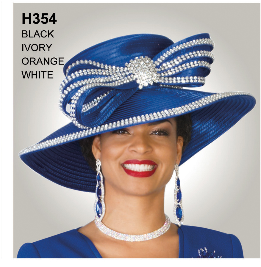 Lily And Taylor Hat H354-RO