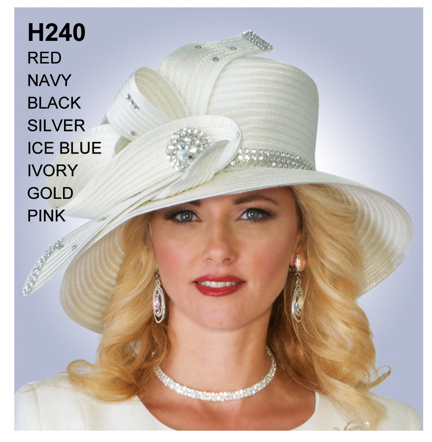 Lily And Taylor Hat H240-IV-IH