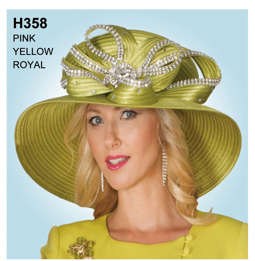 Lily And Taylor Hat H358-YE