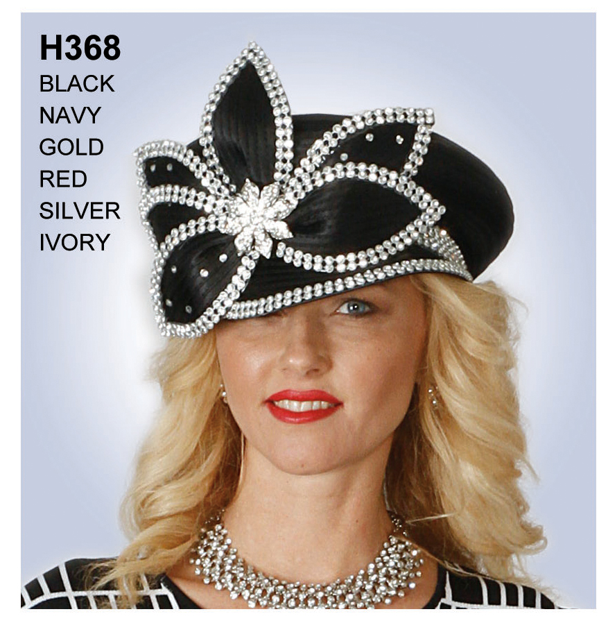 Lily And Taylor Hat H368-BK