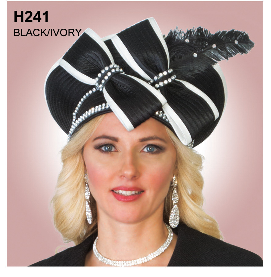 Lily And Taylor Hat H241-BI