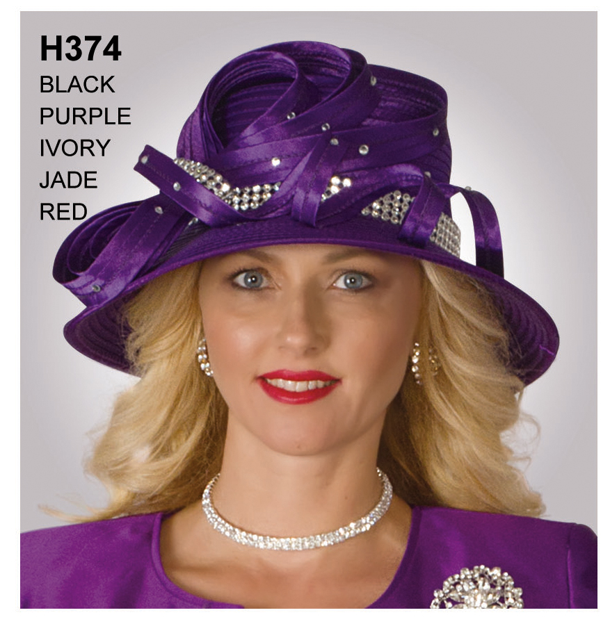 Lily And Taylor Hat H374-PU