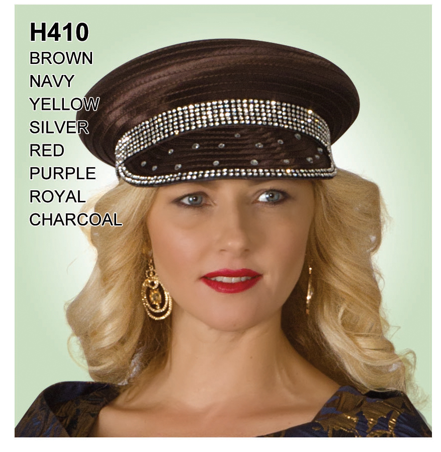 Lily And Taylor Hat H410-BR