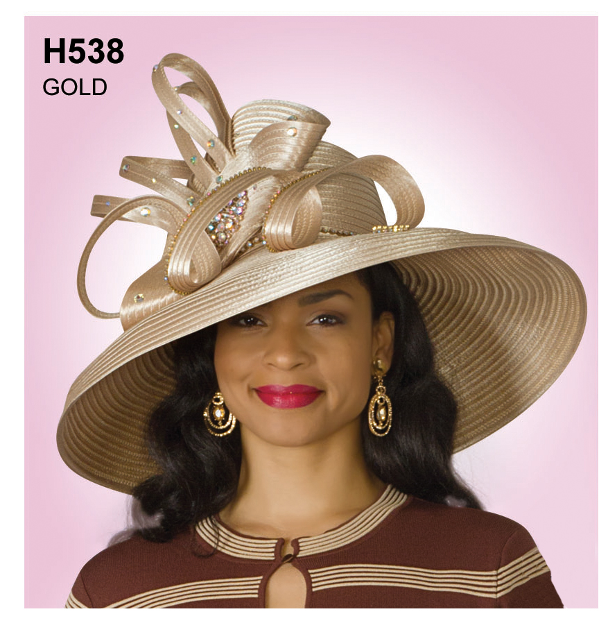 Lily And Taylor Hat H538-GO