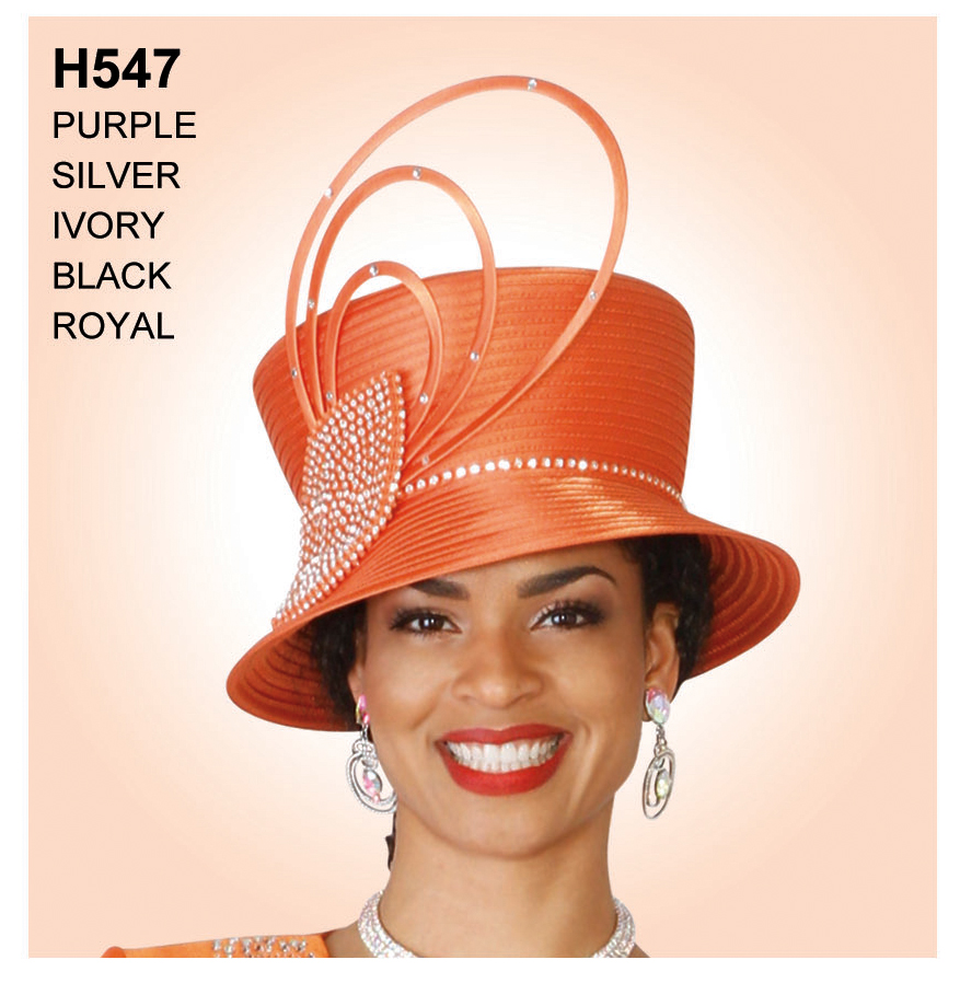 Lily And Taylor Hat H547-OR-IH
