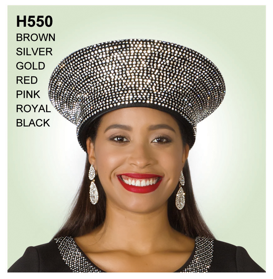 Lily And Taylor Hat H550-BR