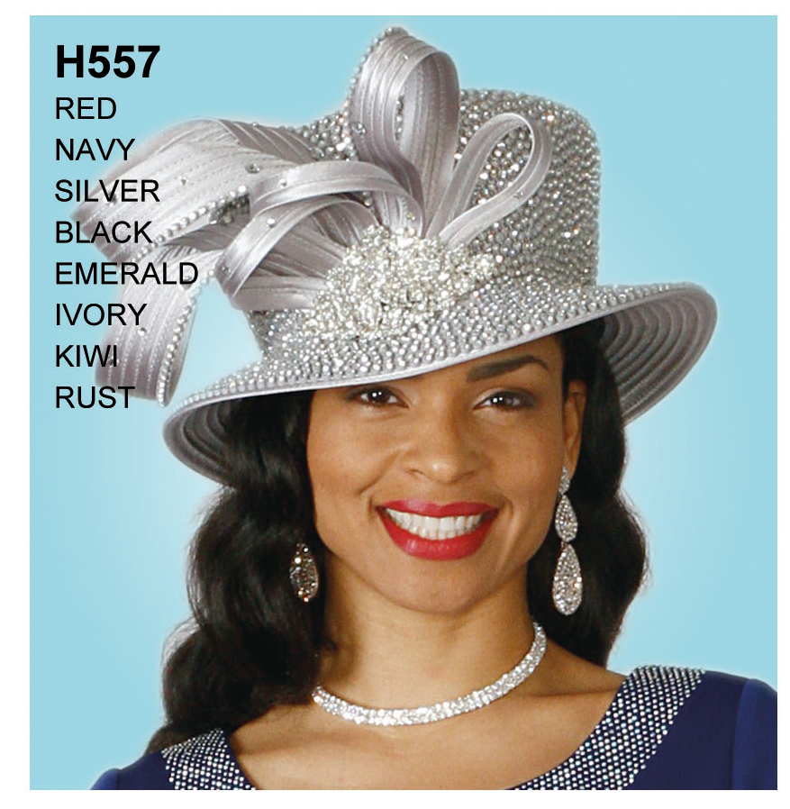 Lily And Taylor Hat H557-SI