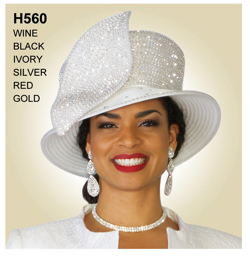 Lily And Taylor Hat H560-WH