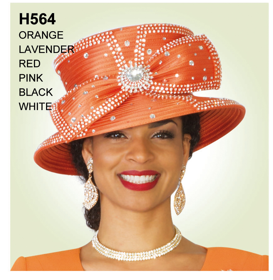 Lily And Taylor Hat H564-OR
