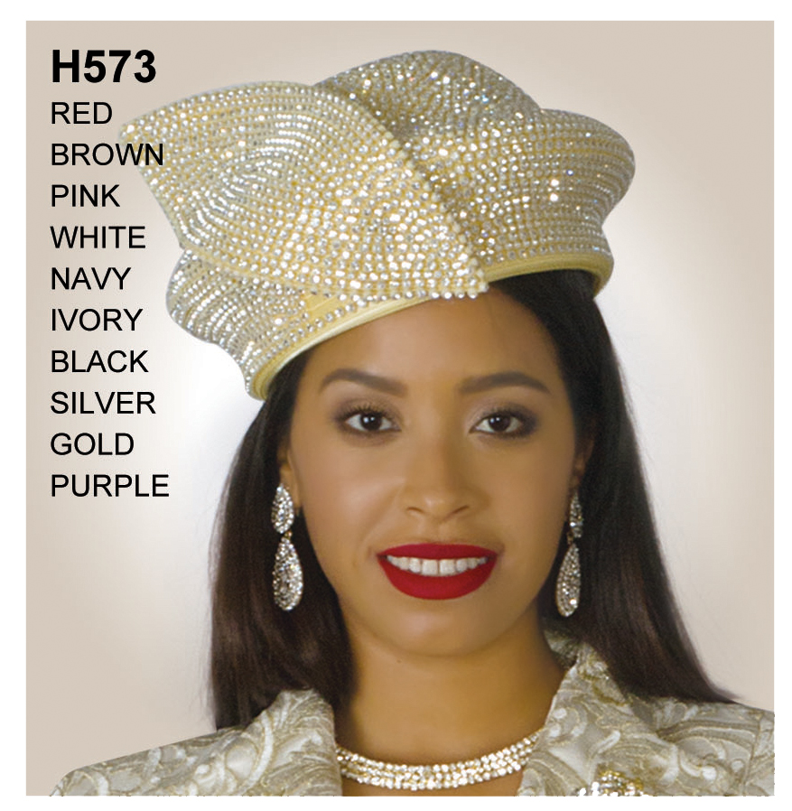 Lily And Taylor Hat H573-GO-IH