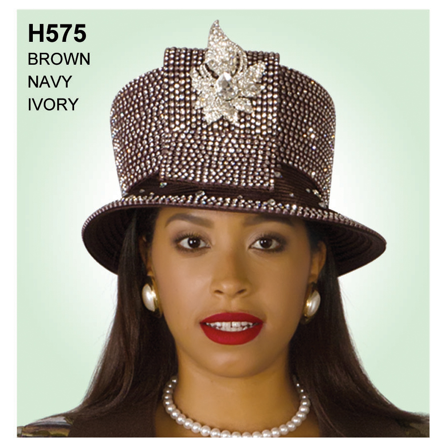 Lily And Taylor Hat H575-BR-IH