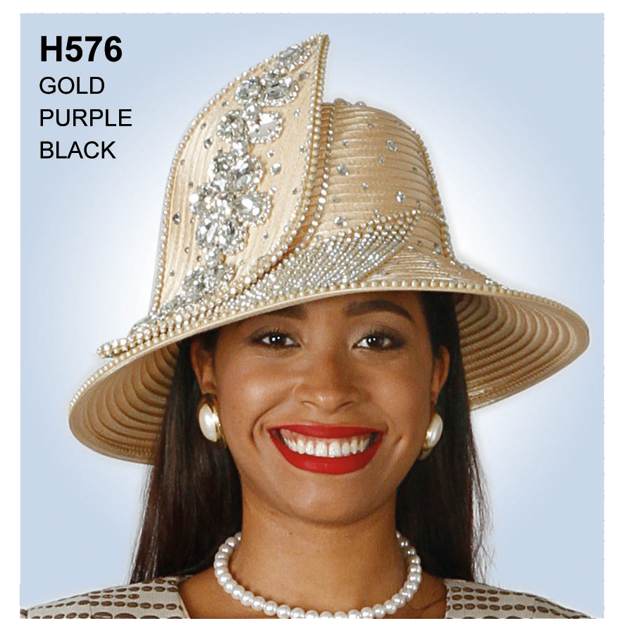 Lily And Taylor Hat H576-GO