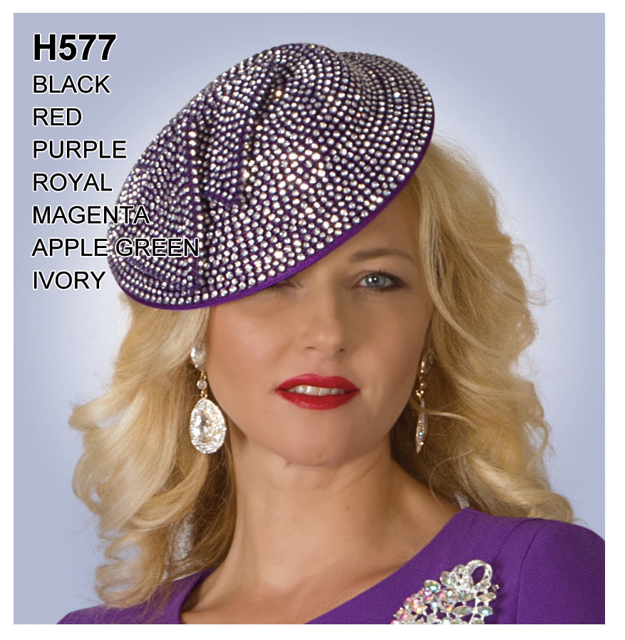 Lily And Taylor Hat H577-PU