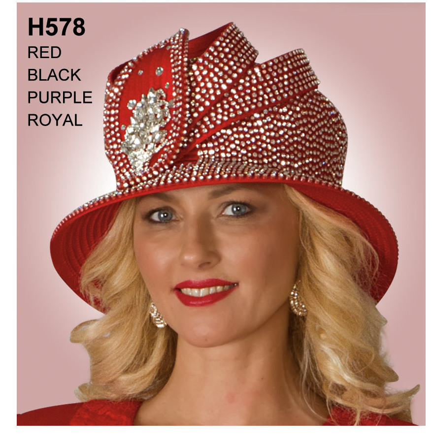 Lily And Taylor Hat H578-RE