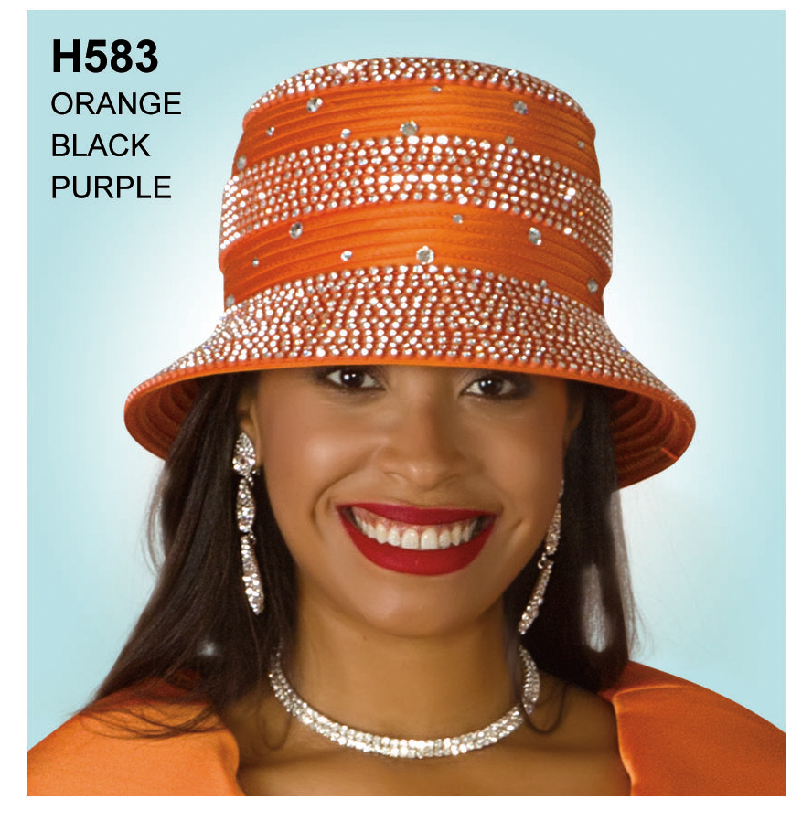 Lily And Taylor Hat H583-OR