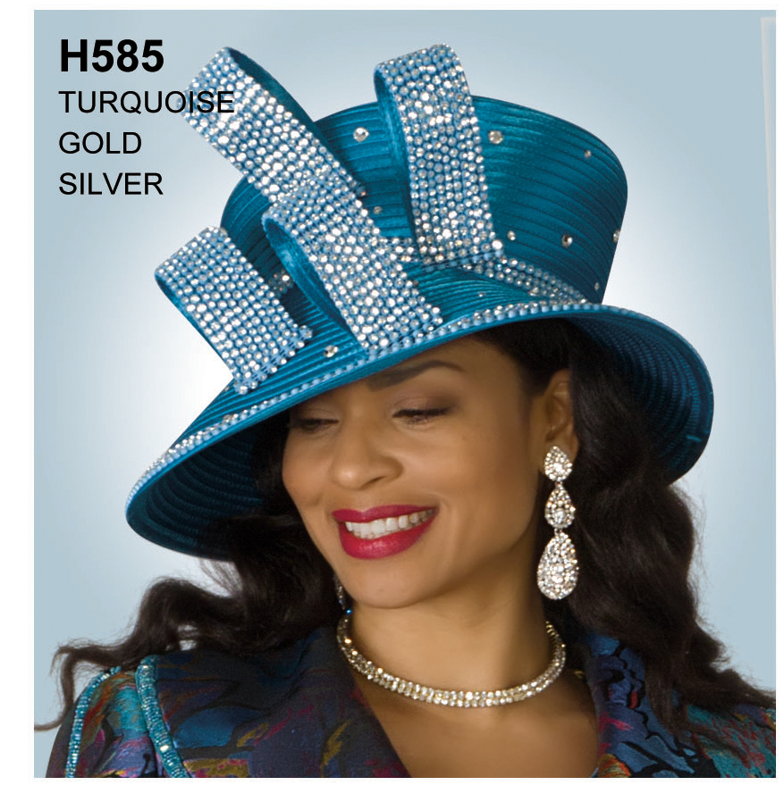 Lily And Taylor Hat H585-TU