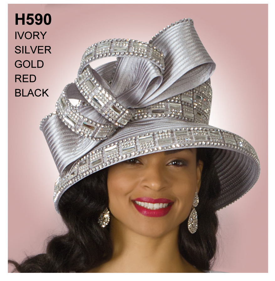 Lily And Taylor Hat H590-SI