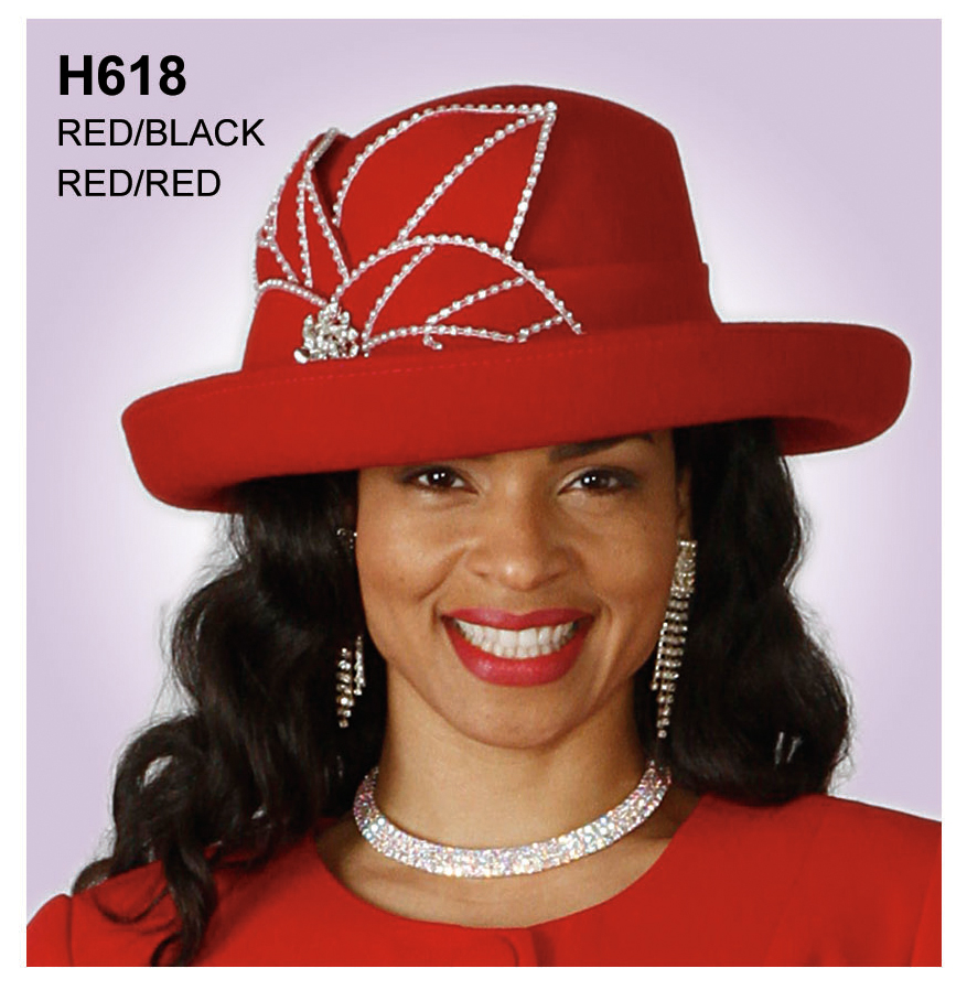 Lily And Taylor Hat H618-RR