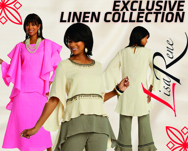 Lisa Rene Exclusive Linen Collection Spring And Summer 2019