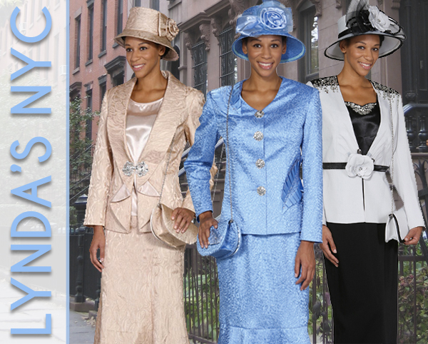 Lynda Of NYC Womens Church Suits Spring And Summer 2019