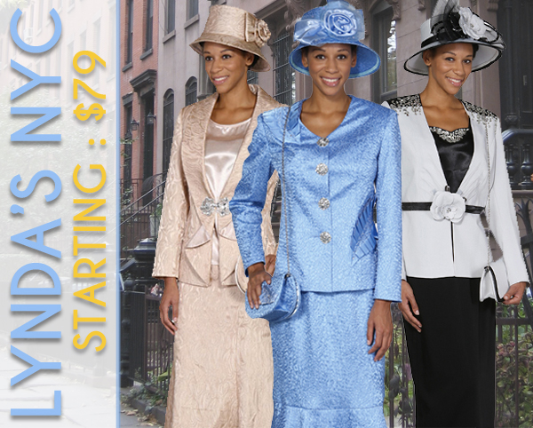 Lynda Of NYC Womens Church Suits Spring And Summer 2018