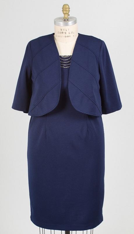 Maya Brooke 27385 ( 2 Pc Jacket Dress )