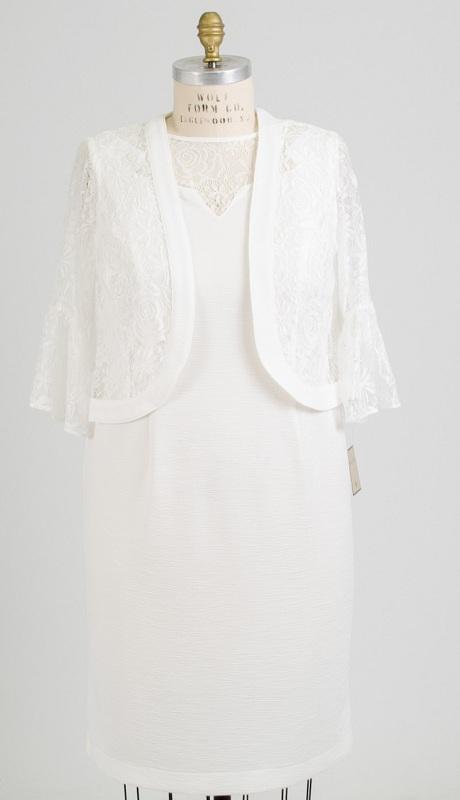 Maya Brooke 27585 ( 2 Pc Womens Jacket Dress )