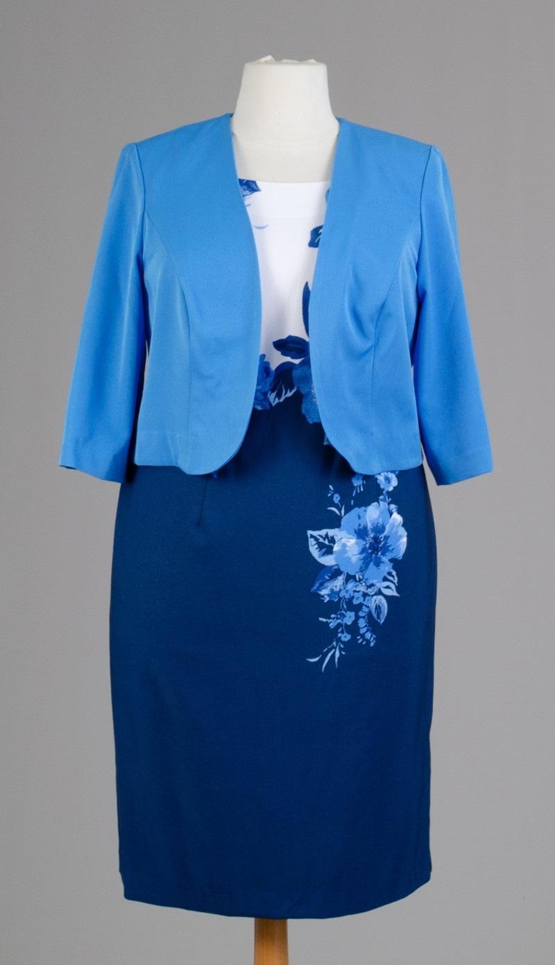 Maya Brooke 27628 ( 2 Pc Jacket Dress )