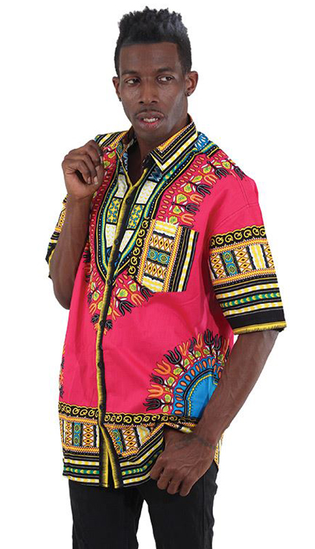 Heritage C-M077-FU ( Traditional Short Sleeve Dress Shirt )