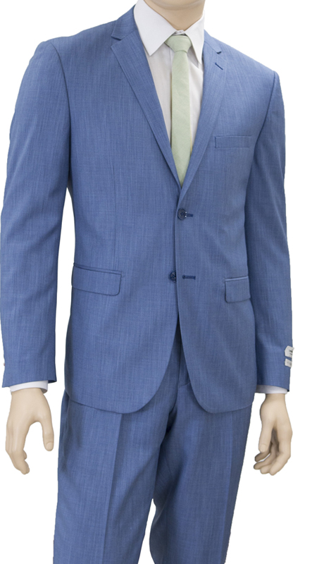 S62DM-D ( 2-Piece Suit 2-Button, Single-breasted Jacket with side vents Flat front Pants )